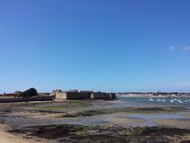 Citadell av Port Louis, Brittany, Frankrike Arkivbild