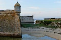 Citadell av Port Louis, Brittany, Frankrike Royaltyfria Foton