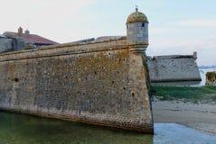Citadell av Port Louis, Brittany, Frankrike Royaltyfri Bild