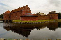 Citadell de Lansskrona Image libre de droits