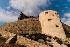 Citadell Deva стоковая фотография