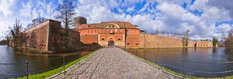 Citadell i Spandau, Berlin, Tyskland Arkivfoto