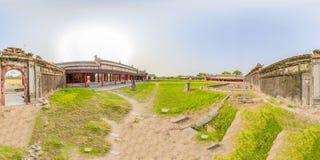 Citadell 360VR av tonen i Vietnam arkivbilder