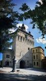 CITADELLA CLOCK TOWER of SEGESVAR - SIGHISOARA - TRANSYLVANIA Royalty Free Stock Photography