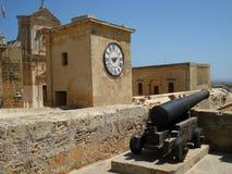 Citadella in Victoria. View of the Citadella in Victoria (Gozo-Malta Royalty Free Stock Images