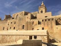 Citadella Victoria, Gozo, Malta Fotografering för Bildbyråer