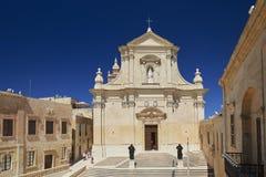Citadella in Victoria, Gozo, Malta Stock Foto's
