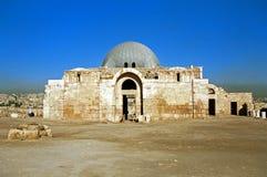 Citadelle, Amman, Jordanie Images stock