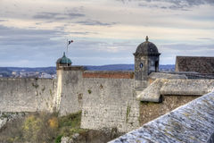 Citadelle of Besancon Stock Photography
