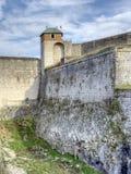 Citadelle of Besancon stock photography