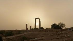 Citadelle d'Amman Images libres de droits