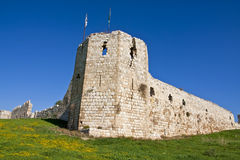 Citadelle d'Antipatrus Photo stock