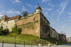 Citadelle de Brasov, Roumanie Image libre de droits