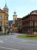 Citadelle de Brasov, Roumanie Photos libres de droits