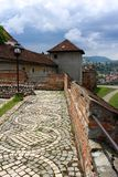 Citadelle de Brasov, Roumanie Images libres de droits