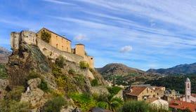 Citadelle de Corte Image stock