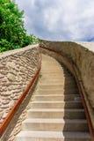 Citadelle de Deva Photographie stock libre de droits