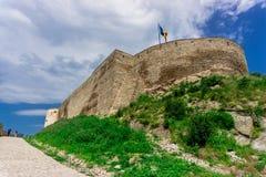 Citadelle de Deva Photographie stock
