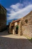 Citadelle de Deva Photo libre de droits