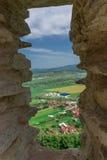 Citadelle de Deva Image stock