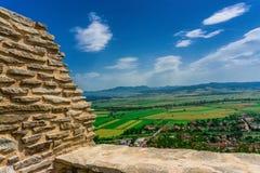 Citadelle de Deva Image libre de droits