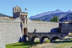 Citadelle de Jaca, Espagne photos stock