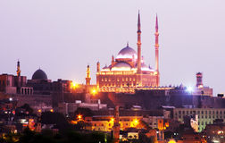 Citadelle de l'Egypte le Caire images libres de droits