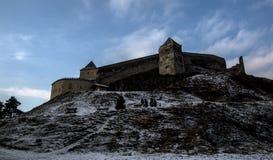 Citadelle de Rasnov Photo libre de droits