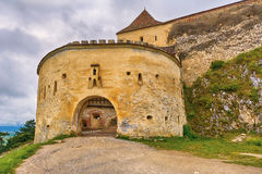 Citadelle de Rasnov en Roumanie Images stock