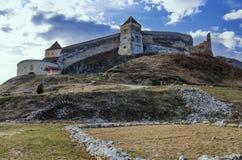 Citadelle de Rasnov, Roumanie Photographie stock