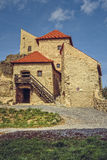 Citadelle de Rupea, Roumanie Photos libres de droits