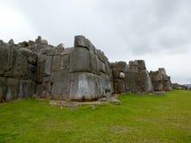 Citadelle de Sacsayhuaman Photographie stock libre de droits