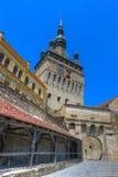 Citadelle de Sighisoara, Roumanie Image libre de droits