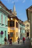 Citadelle de Sighisoara, Roumanie photographie stock