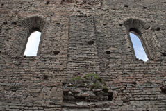 Citadelle de Slimnic (la Transylvanie Roumanie) images libres de droits
