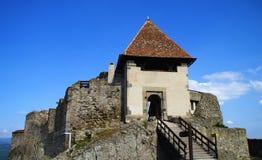 Citadelle de Visegrad Photographie stock libre de droits