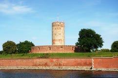 Citadelle de Wisloujscie à Danzig, Pologne Photographie stock