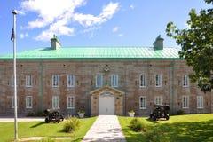 citadelle koszarowy miasto Quebec Obraz Stock