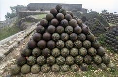 Citadelle Laferriere,海地 免版税库存图片