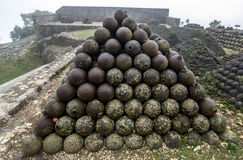 Citadelle Laferriere, Haïti royalty-vrije stock afbeelding