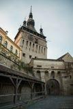 Citadelle médiévale - tour d'horloge Photographie stock libre de droits