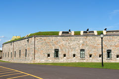 citadelle miasto Quebec Obrazy Royalty Free