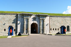 The Citadelle of Quebec City Royalty Free Stock Photos