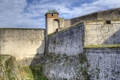 Citadelle van Besançon royalty-vrije stock afbeelding