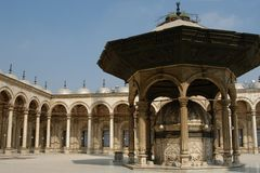 Citadelle van Kaïro royalty-vrije stock afbeelding