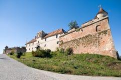 Citadellen av Brasov, Rumänien Arkivbild