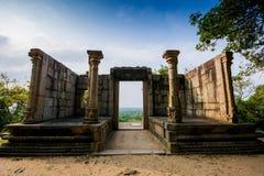 Citadellen av Yapahuwa, Sri Lanka Royaltyfria Foton