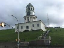 Citadellen i i stadens centrum Halifax på kullen royaltyfri bild