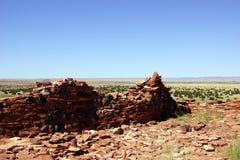 Citadellpuebloen, forntida indianplats Arkivfoton