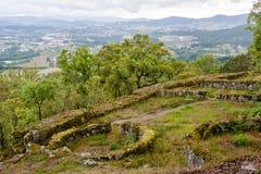 Citania de Briteiros Εποχή του σιδήρου στοκ φωτογραφίες με δικαίωμα ελεύθερης χρήσης